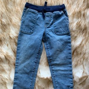 Elastic waist jeans-great for newly potty trained